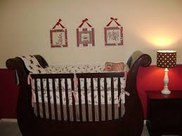 Sock Monkey Crib Bedding by Sock Monkey Nursery Project Nursery
