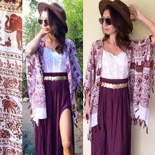 Skirt Burgundy Dress Slit Maxi Outfit Summer Outfits Boho