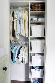 Looking Inside Kids Organized Closets