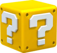 mystery box or block from super mario series of games