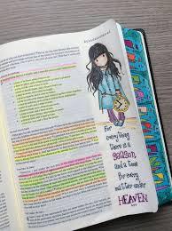 Journaling Bible Ecclesiastes 31 Micron And Polychromos