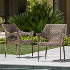 Outdoor Mix Mocha Wicker Stacking Chairs (Set Of 2 ... Gdf Studio Dorside Outdoor Wicker Armless Stack Chairs With Alinum Frame Dover Armed Stacking With Set Of 4 Palm Harbor Stackable White All Weather Patio Chair Bay Island Noble House Multibrown Ding 2pack Plowhearth Bistro Two 30 Arm Brown 51 Bfm Seating Ms11cbbbl Gray Rattan Inoutdoor Restaurant Of Red By Crosley Fniture