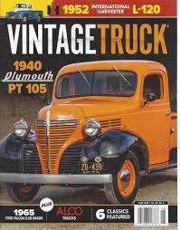 100 Vintage Truck Magazine June 2018 Various Amazoncom Books