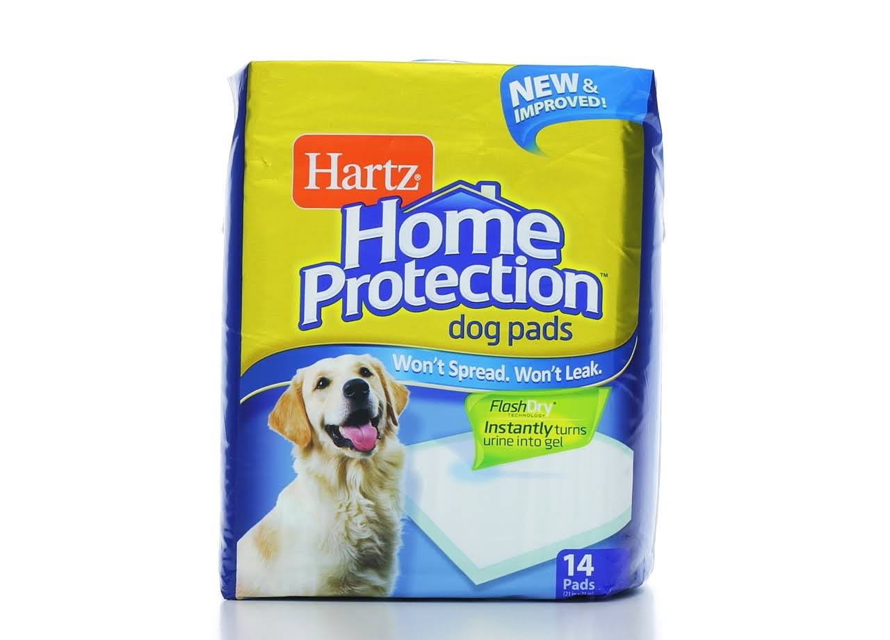 Hartz Home Protection Dog Pads - 14 pads