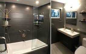 narrow master bathroom ideas whaciendobuenasmigas