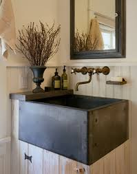 beautiful slop sinkin bathroom farmhouse with prepossessing