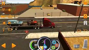 100 Big Truck Games Simulator USA Red MAP Miami Cargo Cars Android