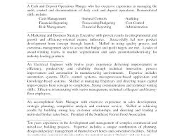 Resume Summary Statements The Best Of Qualifications