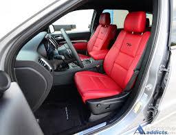 Dodge Durango Captains Chairs by 2016 Dodge Durango R T Blacktop Rwd Review U0026 Test Drive U2013 The Jack