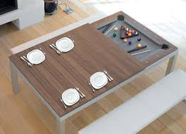dining table luxury pool table dining combo room conversion