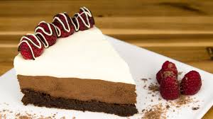 Triple Chocolate Mousse Cake Recipe from Cookies Cupcakes and Cardio