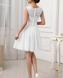 white party dress promotion shop for promotional white