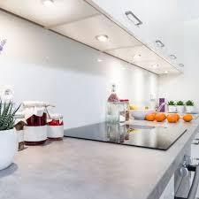 6 led schrank licht unterbau leuchten küchen le flach aufputz strahler spots