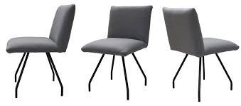 standard furniture posada stuhl mit metallgestell in vielen farben