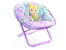 tinkerbell purple foldable mini saucer chair