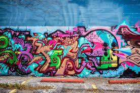 Deep Ellum Wall Murals by Graffiti Skull Dallas Fort Worth 75centralphotography