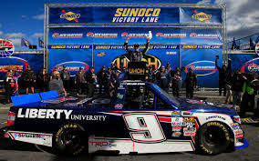 100 Truck Series William Byron Wins Firstever NASCAR Camping World