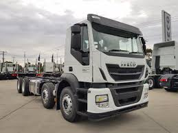 2018 Iveco Stralis AD450 8X4 DAY CAB With PTO (White) For Sale In ...
