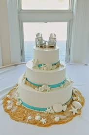 Beach Wedding Cakes And Cupcakes