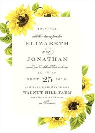 Sunflower Wedding Invitations 8552 Also Wreath Invitation Printed Cheap Rustic Country