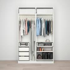 pax wardrobe white hokksund light gray 59x26x93 1 8