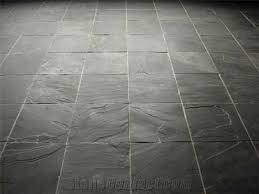 Black Slate Floor Tiles How To Clean N