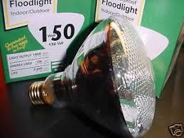 150 watt outdoor flood light bulbs 2 bulbs ebay