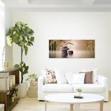 feng shui steine bild kunstdruck auf vlies leinwand