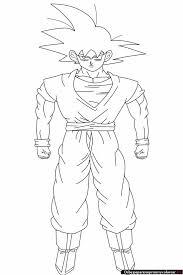 Dragon Ball Z Para Colorear Vegito Normal