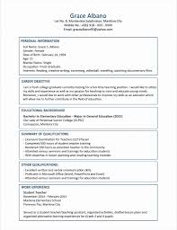 Sample Resume Of An Information Technology Graduate Inspirationa For Fresh In A