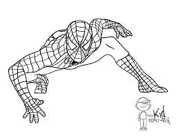 Spiderman Colouring Pages Pdf 3 Coloring Free Spider Man 2 Printable Kid Medium Size