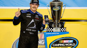 100 Truck Series Drivers Brett Moffitt Wins NASCAR Title