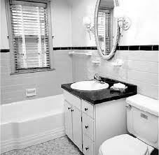 black white and bathroom decorating ideas black high glossy