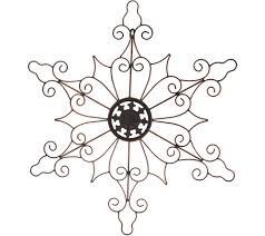 Plow Hearth Indoor Outdoor 32 Metal Snowflake Wall Decor