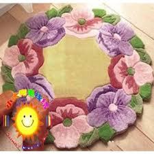 tapis a faire soi meme kit tapis fleurs en à faire soi même achat vente kit de