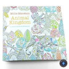 Anti Stress Animal Kingdom Coloring Book For All Ages