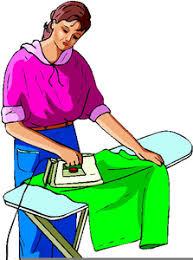 Washing Dishes Clipart Image