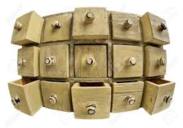 Apothecary Chest Plans Free by Data Storage Concept 15 Drawers Of A Primitive Wooden Apothecary