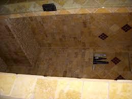 bathroom remodel in erie colorado soaking tub with travertine