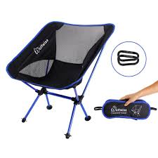 Kelsyus Go With Me Chair Uk by Wolfwise Portable Folding Camping Fishing Chair Lightweight