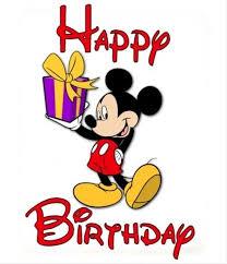Disney Birthday Disney Birthday Clip Art Clipart Panda Free Clipart Animations