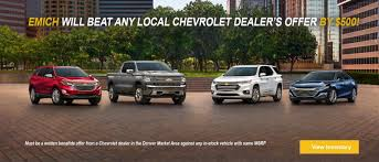 Emich Chevrolet L Lakewood Chevy Near Denver L Colorado New Used ...