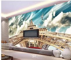 großhandel fototapete himmel eiffelturm 3d wandbilder tapete für wohnzimmer yiwuwallpaper1688 9 52 auf de dhgate dhgate