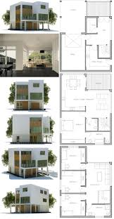 100 Contemporary House Floor Plans And Designs Small Lot Plan Modern Minimalist Open