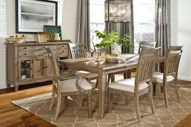 Rustic Dining Room Table Set Modern Minimalist