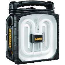 dewalt 38 watt fluorescent cordless corded work light dc020 the