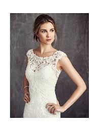 ELLA ROSA BE280 Straighter Wedding Dress In Ivory Lace
