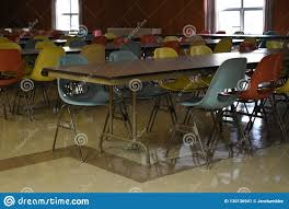 Retro Table And Chairs In A Cafeteria In A School Stock Image ... Coaster Cleveland Retro 5 Piece Round Ding Table Upholstered And Chairs Set Fniture Clearance White Argos Chair Oxfordshire Outdoor Rimu And Chrome Fine Retro Drop Leaf Kitchen Tables Chairs Yellow 1950s Cracked Cool Dinettes Style Cadian Made Sets Vintage A Cafe With Wroclaw Poland Stock Room Kitchen Bar Stool Table Tables On Carousell Agreeable Antiques Atlas Formica Ugarelay Very Fashionable