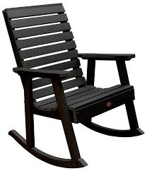 Highwood Weatherly Rocking Chair, Black Perfect Concept White Resin Rocking Chairs Emccubeinfo Plastic Outdoor Fniture Dorel Living Baby Relax Addison Chair And A Half Recliner Contemporary The Store Plus Size Patio Best Choices Double Nursery With Home Depot Caravan Chelsea Wicker Resin Modern Gallery Of Small View 16 20 Photos 3 Porch Available On Amazon Gliderz Wooden Neurostis
