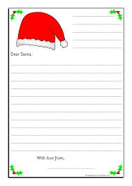 Letters to Santa Writing Frames SB9017 SparkleBox